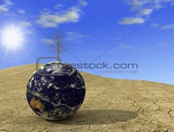 arid globe