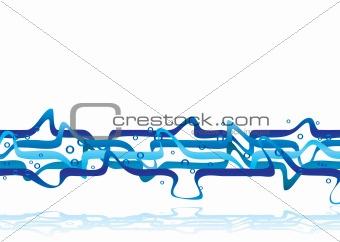 blue muddle