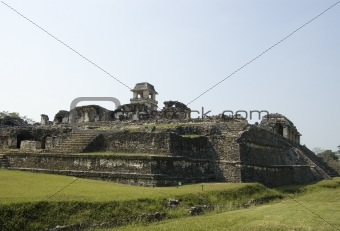 Castle at Palenque Ruins, Mexico