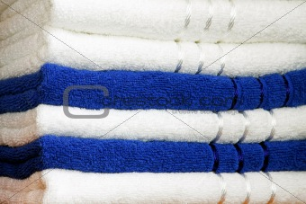 Towels blue
