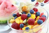 Summer refreshment - fruit salad
