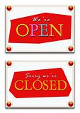 Closed & open tag