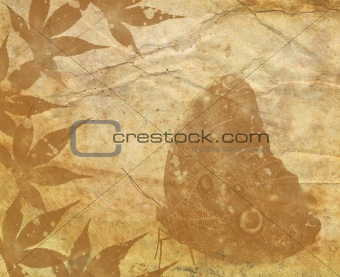 Old Paper Texture With Decorative elements