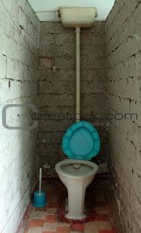Old toilet (lavatory, W.C.).