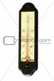 Old thermometer.
