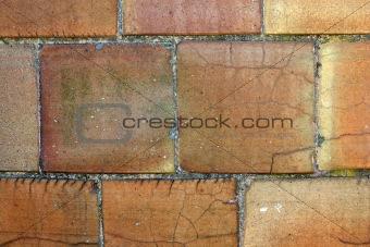 Old silo blocks background
