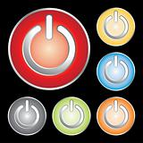 power button icons