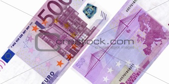 500 euro banknote sides