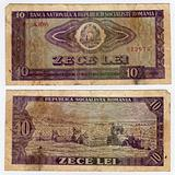 vintage romanian banknote from 1966