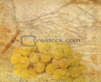 background image with Grapes