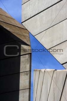 Abstract architectural  construction