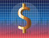 US Dollar financial chart