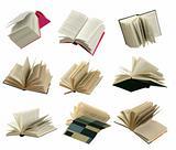 Flying books