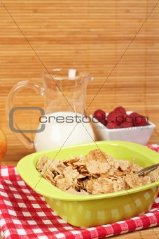 Cereals for healthy breakfast