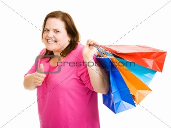Happy Shopper Thumbsup