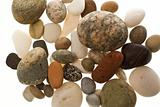 Pile of beach pebbles