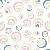 Retro soft circles pattern