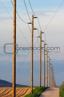 Power cable lines