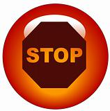 stop sign web button