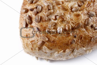 Fresh baking isolated on white