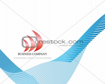 abstract company page