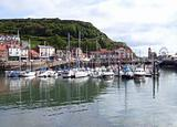 Yacht marina in Scarborough