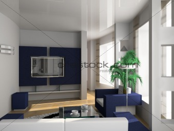 modern l interior