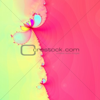 Fractal background graphic