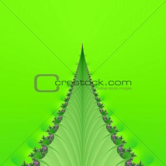 Fractal background graphic