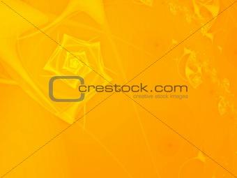 bright orange fractal