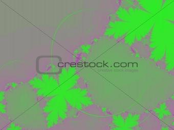 green leaf fractal