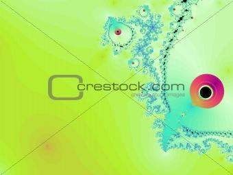 green fractal art