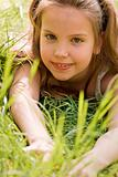 Crawling in the grass