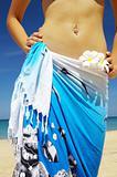 in sarong