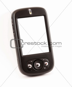 smart phone with empty screen