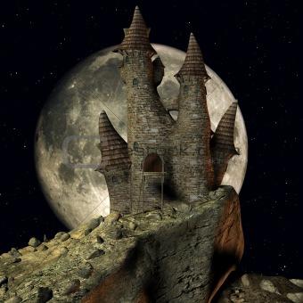 Medieval Toon Castle