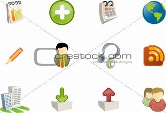 web and application icon - varico set 7
