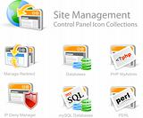 SITE MANAGEMENT ICONS