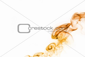 Wavy background made of smoke