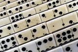 Old ivory domino