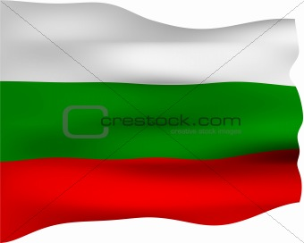 3D Flag of Bulgaria