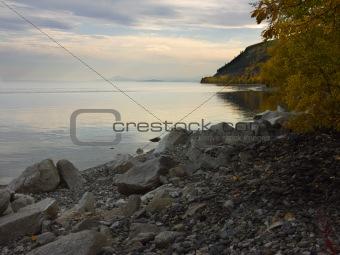 Autumn on the Lake Baikal
