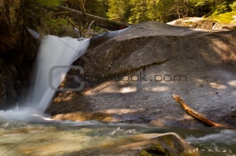 Waterfall from Copper Lake