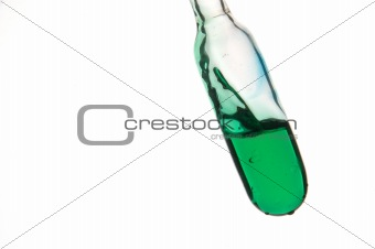 Green retort with liquids