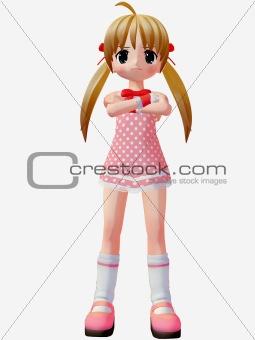 Anime Toon Girl