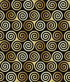 Seamless triple celtic spiral pattern