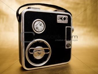 Old 8mm Film Camera