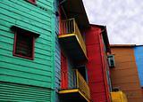 Coloured Houses Of La Boca