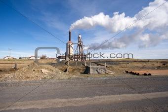 green energy power plant
