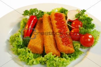 chicken sticks